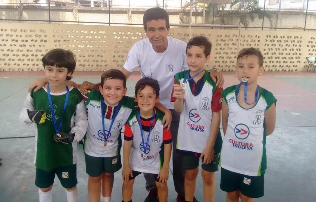 JEVRE/2018 - Medalha de Ouro - Futsal Sub8