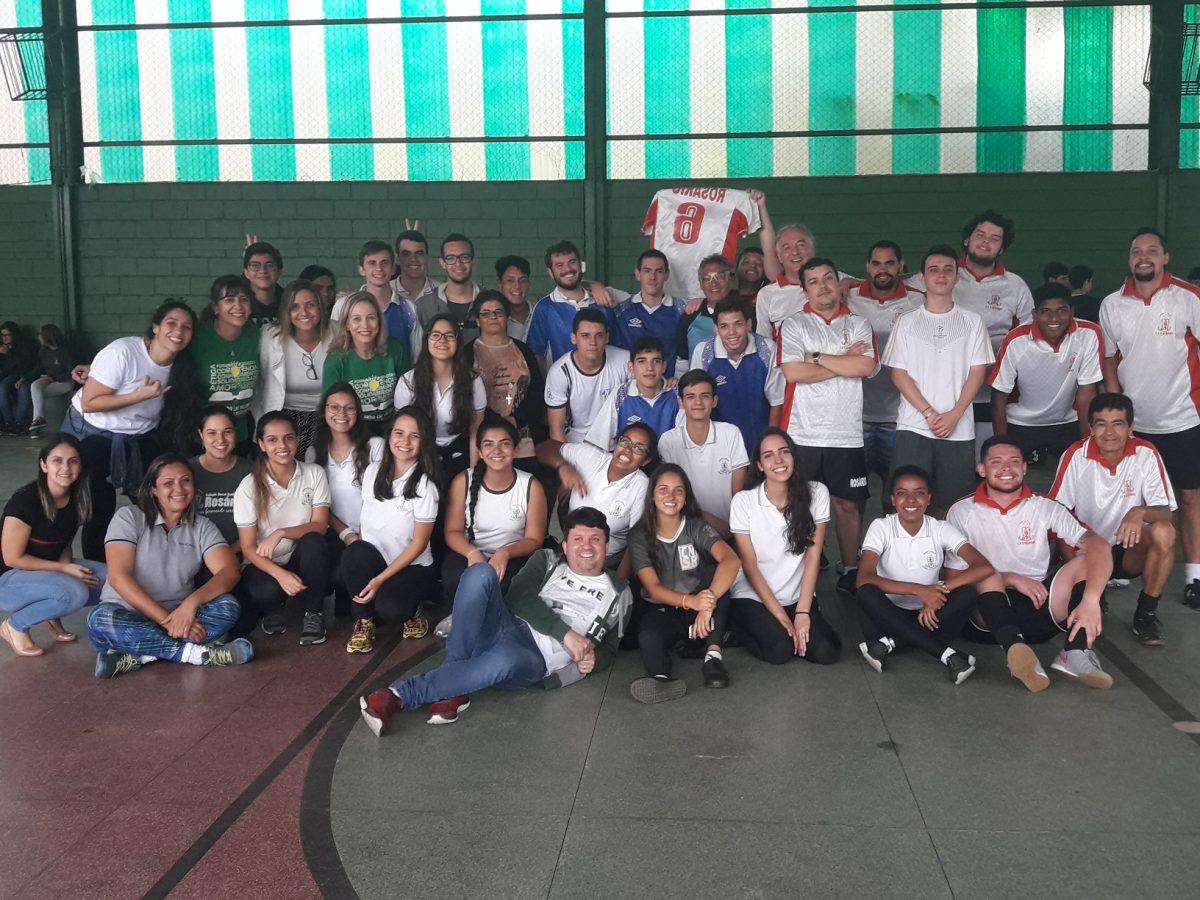 Queimada e Futsal - Professores & Alunos