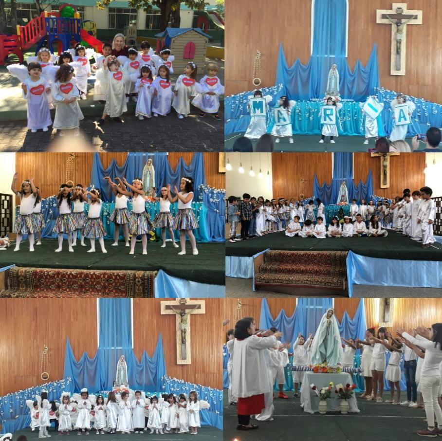 Coroações Homenagem a Maria, discípula e missionária de Jesus