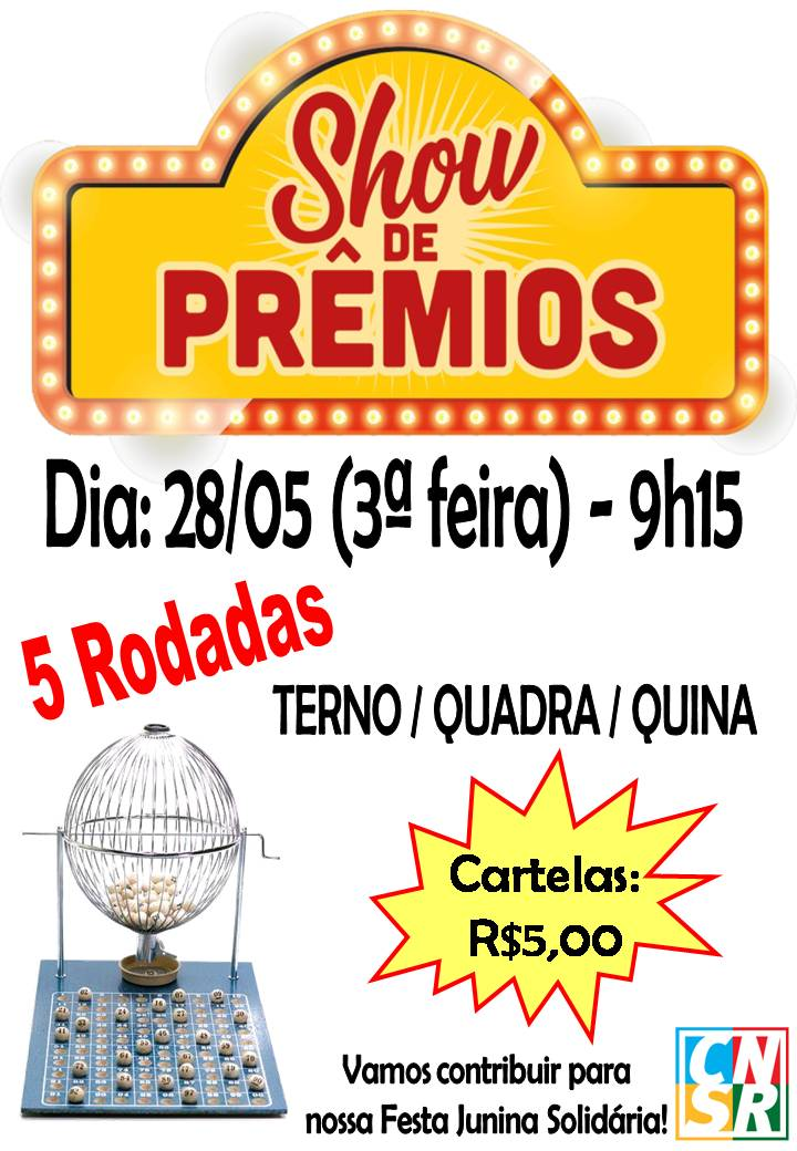 Show de Prêmios - Participem!