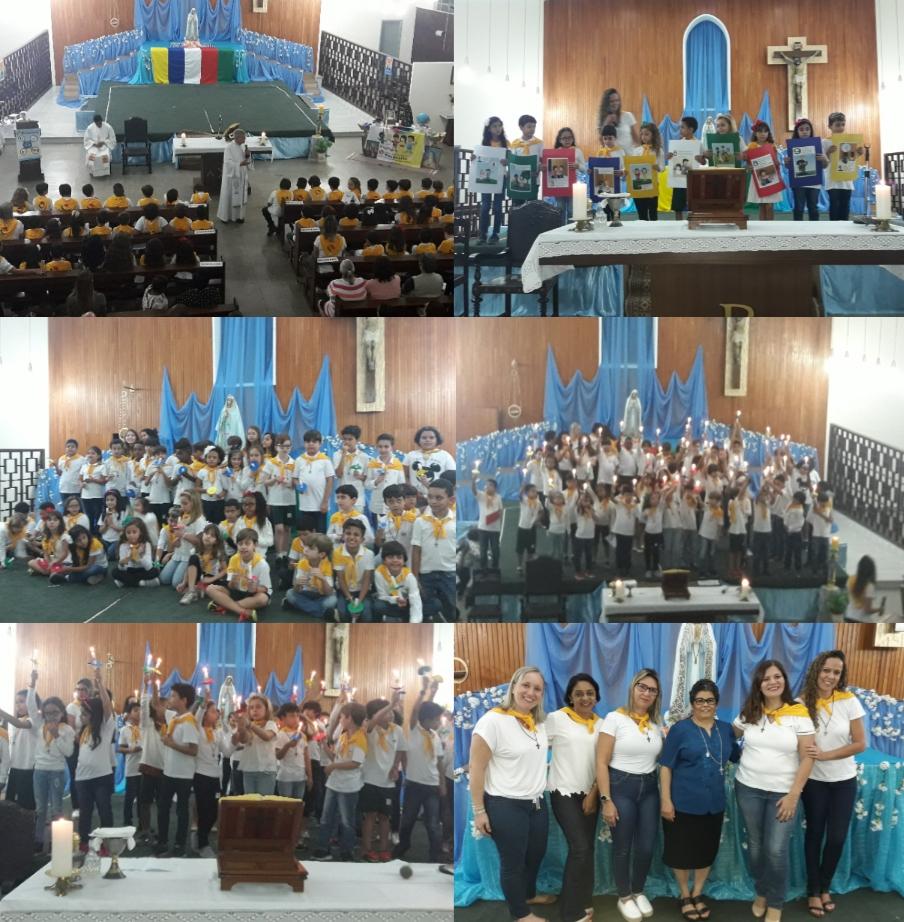 Consagração da IAM - Infância e Adolescência Missionária
