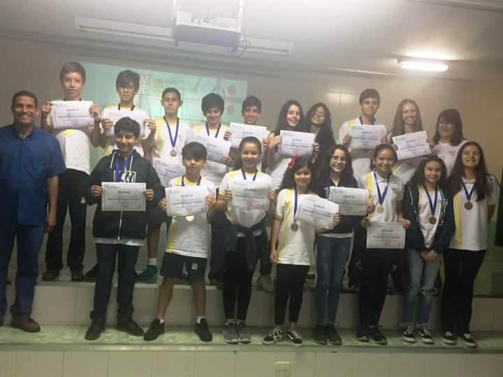 Premiação da XXI Olimpíada de Matemática