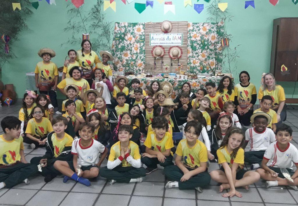 Arraiá da Infância e Adolescência Missionária