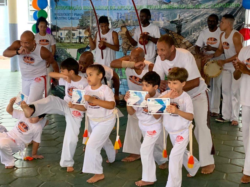 Capoeira no Rosário - Cerimônia de Graduação