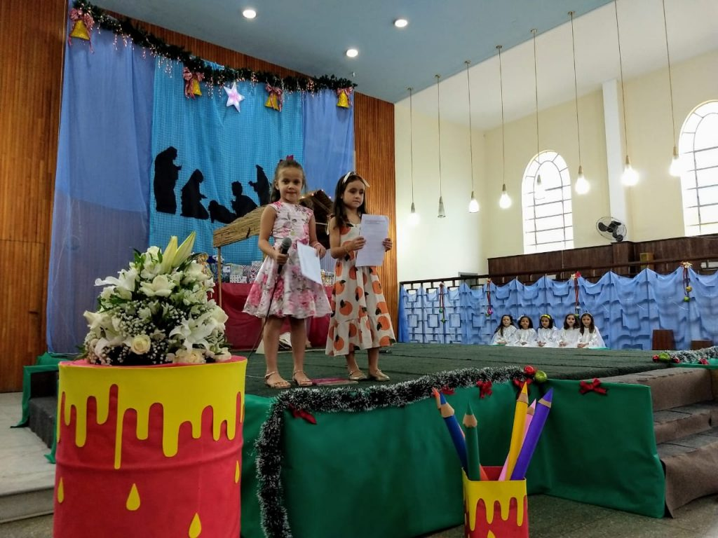Celebração em Ação de Graças - 1º Ano - Ensino Fundamental