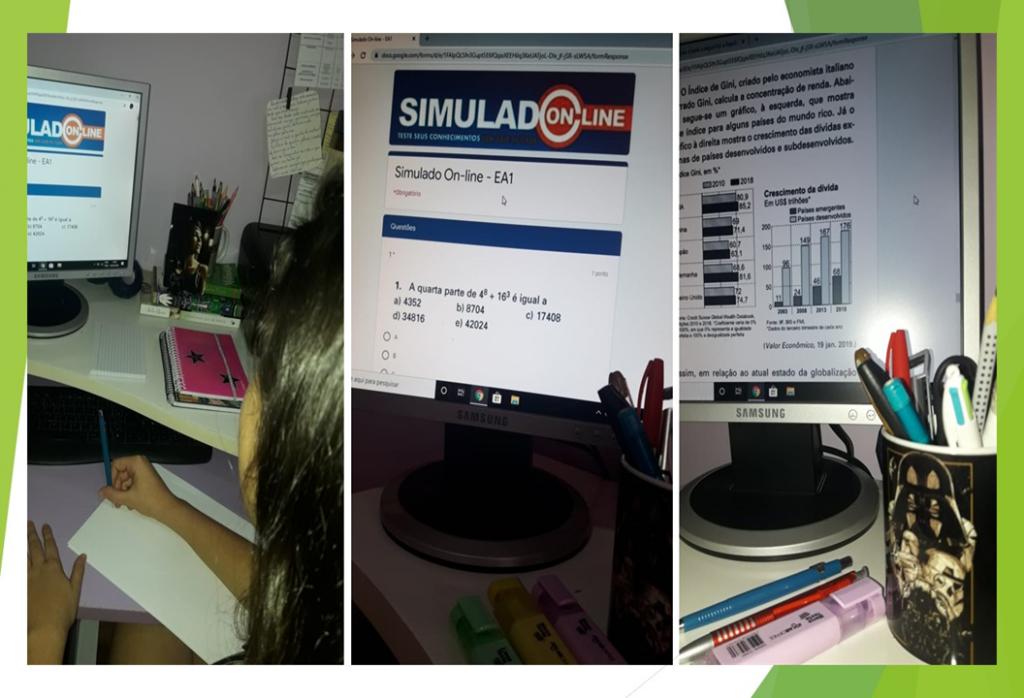 Escola Viva e Dinâmica: Simulado On-line
